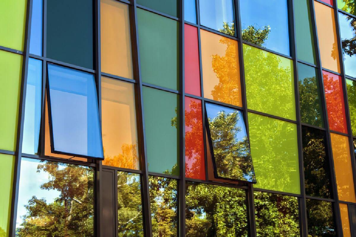 Coloured Aluminium Windows Bradford